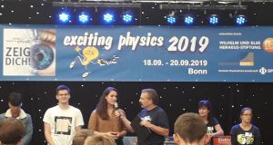 12er-Erfolg bei Exciting Physics